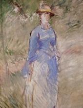 Manet, Giovane donna nel verde.jpg