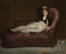 Manet, Giovane donna sdraiata in costume spagnolo.png