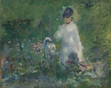 Manet, Giovane donna tra i fiori.jpg