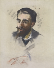Manet, Giovane uomo con barba bionda.jpg