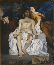 Édouard Manet, Il Cristo morto con gli angeli   Le Christ mort aux anges