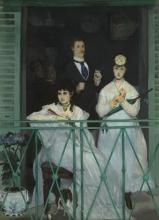 Manet, Il balcone   Le balcon