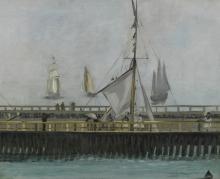 Manet, Il molo di Boulogne sur mer.jpg