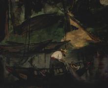 Manet, Il pescatore | Le pêcheur | Der Fischer | The fisher