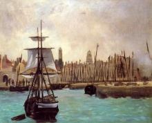 Manet, Il porto di Calais [1].jpg