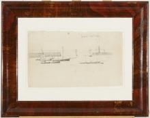 Manet, Il porto di Granville [cornice].jpg