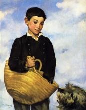 Manet, Il ragazzino con il cane.jpg