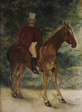 Édouard Manet, Il signor Arnaud a cavallo
