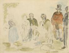 Manet, Il vecchio musicista. Studio d'insieme | Le viex musicien. Étude pour l'ensemble du tableau