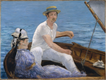 Manet, In barca.png