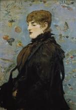 Edouard Manet, L'Autunno (Ritratto di Méry Laurent)   L'Automne (Portrait de Méry Laurent)