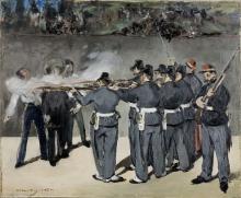 Edouard Manet, L'esecuzione dell'imperatore Massimiliano | Kejser Maximilians henrettelse | L'exécution de l'empereur Maximilien | The execution of Emperor Maximilian