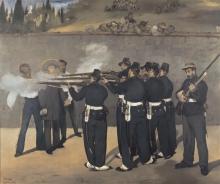 Manet, L'esecuzione dell'imperatore Massimiliano del Messico.jpg