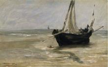 Manet, La barca nera a Berck.jpg