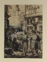 Manet, La barricata | La barricade | The barricade