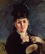 Manet, La donna con l'ombrello.png