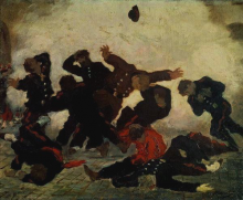 Manet, La fucilazione.png