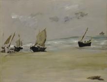 Manet, La spiaggia di Berck.jpg