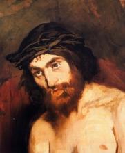 Manet, La testa di Cristo | La tête de Christ | Head of Christ