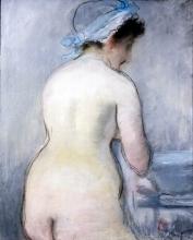 Manet, La toilette | Die toilette | The toilet