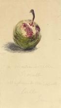 Manet, Lettera ad Isabelle Lemonnier [Una prugna][1].jpg