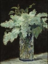 Édouard Manet, Lilla bianchi in un vaso di vetro.jpg