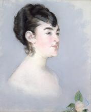 Manet, Mademoiselle Isabelle Lemonnier [1].png