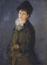 Édouard Manet, Mademoiselle Isabelle Lemonnier