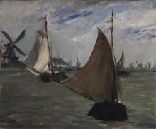 Manet, Marina in Olanda | Marine en Holland | Marine in Holland