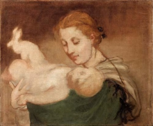 Manet, Mose salvato dalle acque.jpg