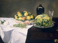 Manet, Natura morta con melone e pesche.jpg