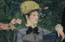 Édouard Manet, Nella serra [particolare] | Dans la serre [détail] | Im Wintergarten [Detail] | In the conservatory [detail]