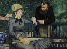 Édouard Manet, Nella serra | Dans la serre | Im Wintergarten | In the conservatory