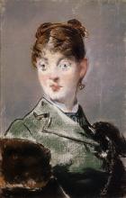 Manet, Parigina (Ritratto di Madame Jules Guillemet) | Parisienne (Portrait de Madame Jules Guillemet) | Parisian woman (Portrait of Madame Jules Guillemet)