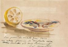 Manet, Piatto di gamberetti e limone.jpg
