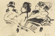 Manet, Quattro personaggi a teatro.jpg