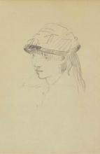 Manet, Ragazza con cappello rotondo.jpg