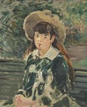 Manet, Ragazzina su una panchina [2].jpg