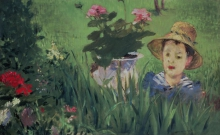 Manet, Ragazzo tra i fiori.jpg