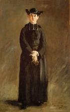 Manet, Ritratto dell'abate Hurel | Portrait de l'Abbé Hurel | Portrait of Abbot Hurel | Retrato del Abate Hurel