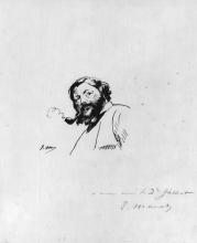 Manet, Ritratto di Gustave Courbet.jpg