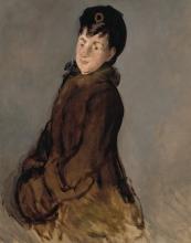 Manet, Ritratto di Isabelle Lemonnier con un manicotto.jpg