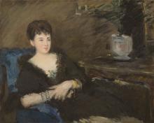 Manet, Ritratto di Isabelle Lemonnier | Portrait d'Isabelle Lemonnier | Portrait of Isabelle Lemonnier
