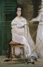 Édouard Manet, Ritratto di Mademoiselle Claus | Portrait de Mademoiselle Claus | Portrait of Mademoiselle Claus