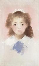 Manet, Ritratto di Mademoiselle Hecht, di fronte | Portrait de Mademoiselle Hecht, de face