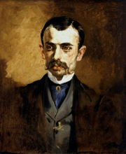 Manet, Ritratto di un uomo   Portrait d'un homme   Portrait of a man