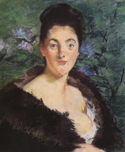 Manet, Signora in pelliccia.png