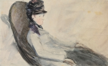 Manet, Studio per 'La donna in blu'.jpg
