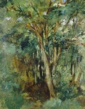Manet, Tronchi d'albero.jpg