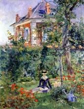 Manet, Un angolo di giardino a Bellevue.jpg